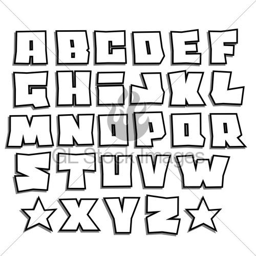 Graffiti Chunky Block Letters Need Free Font Id